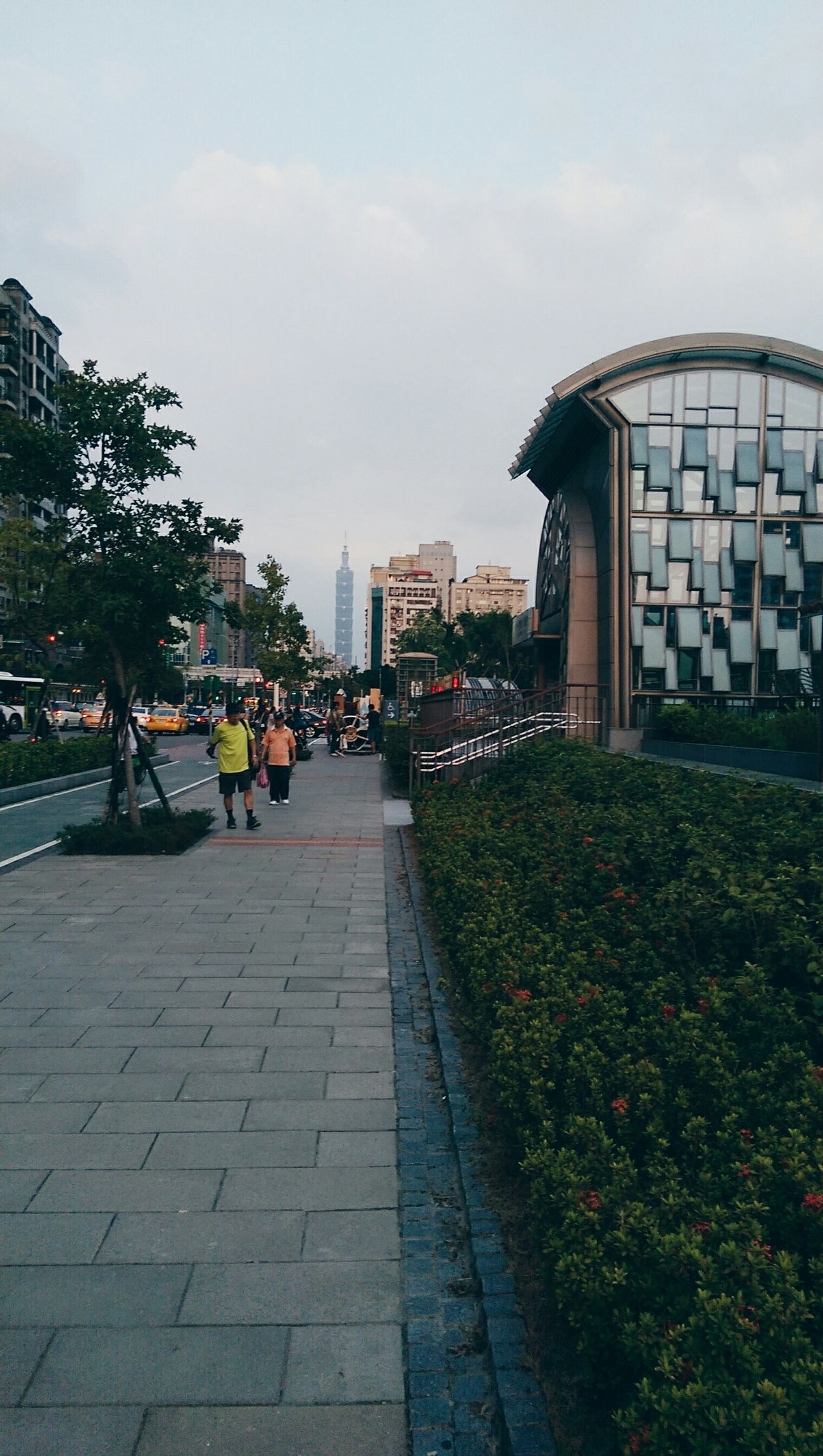 20150905 Gohome Sunset Taipei 101 VSCO Yolo Kate's Daily Hanging Out