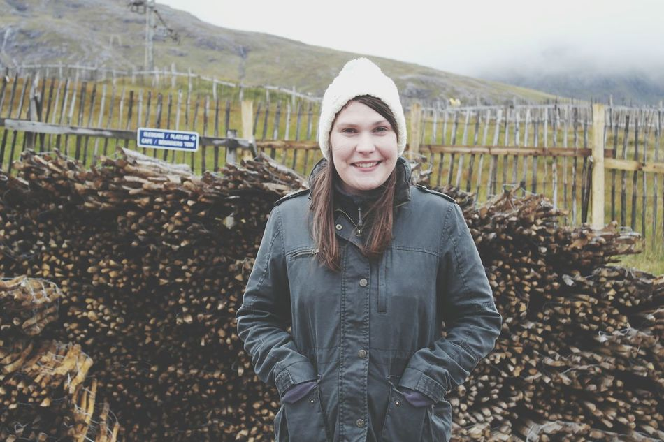 Portrait Smiling Knit Hat Happiness Warm Clothing Girlfriend Love Tranquility Scotland. Nc500 Home Camping Beauty In Nature Nature Scotland Travel Happy