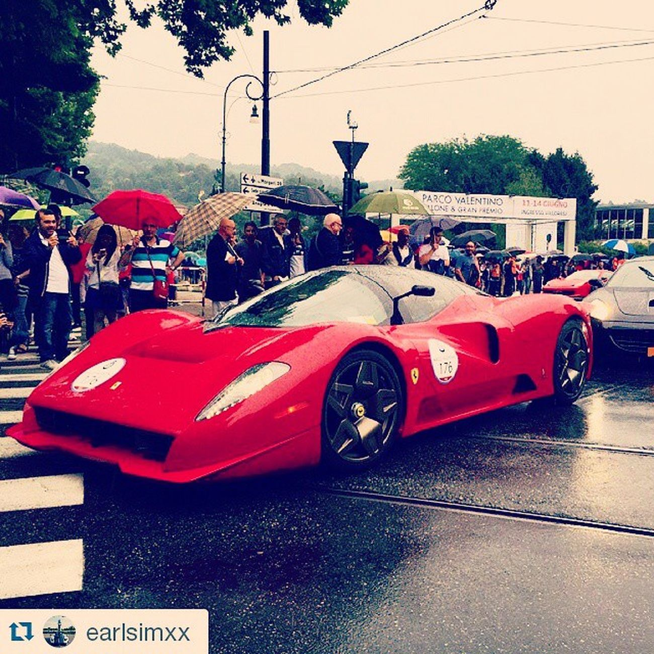 Repost @earlsimxx ・・・ Ferrari P4/5 by Pininfarina Parcovalentino GTspiritTour