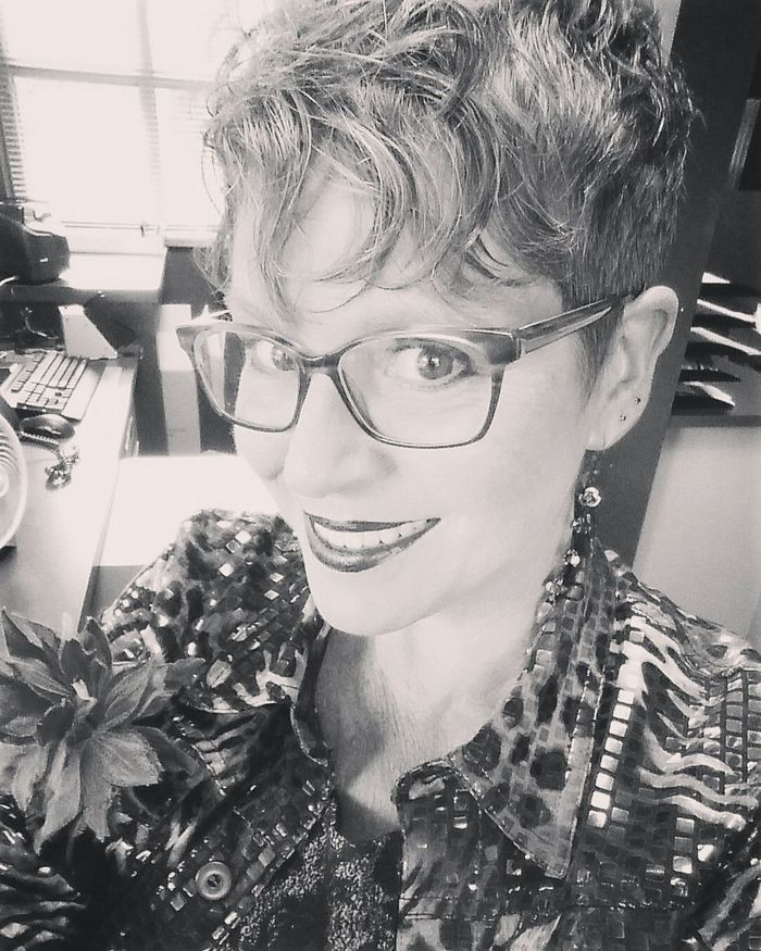 It Is I It Is Indeed  It Is I ! Black And White New Spectacles  Late Springtime 2017 Self Portrait