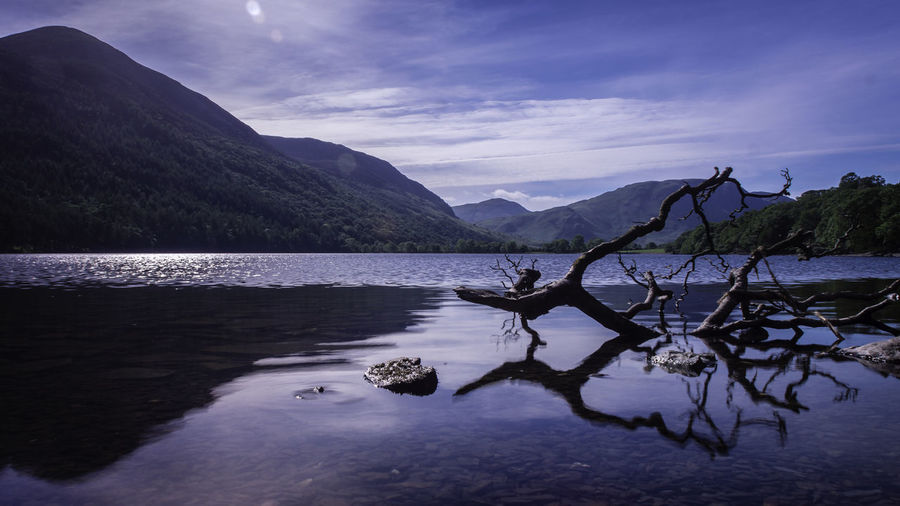 Buttermere, Cumbria Beauty In Nature Day Lake Landscape Mountain Mountain Range Nature No People Outdoors Reflection Scenics Sky Tranquil Scene Tranquility Tree Water