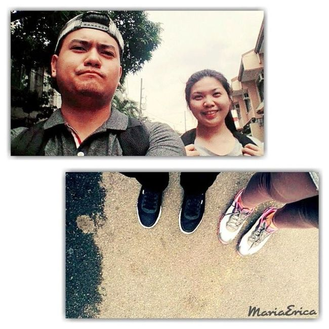 Every new day is another chance to change your life with the same person you loved the most. Badboycap Rubbershoes Runrun Walkingintheroadwithyou latepost