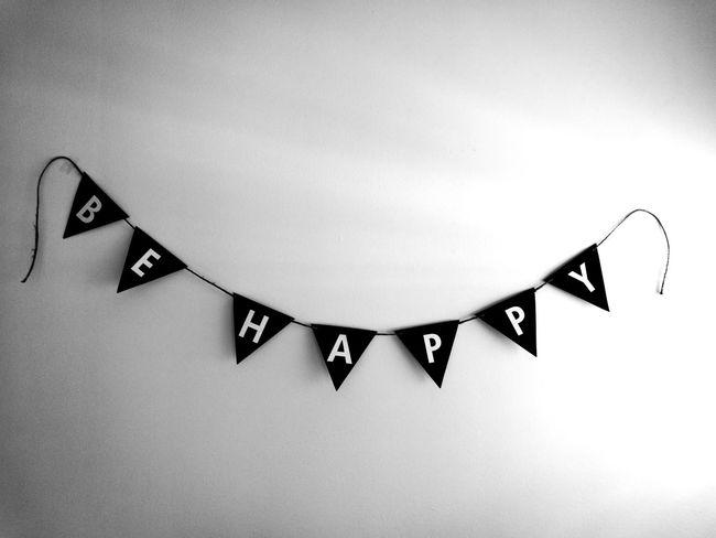Hanging Triangle Shape Behappy:) Behappy
