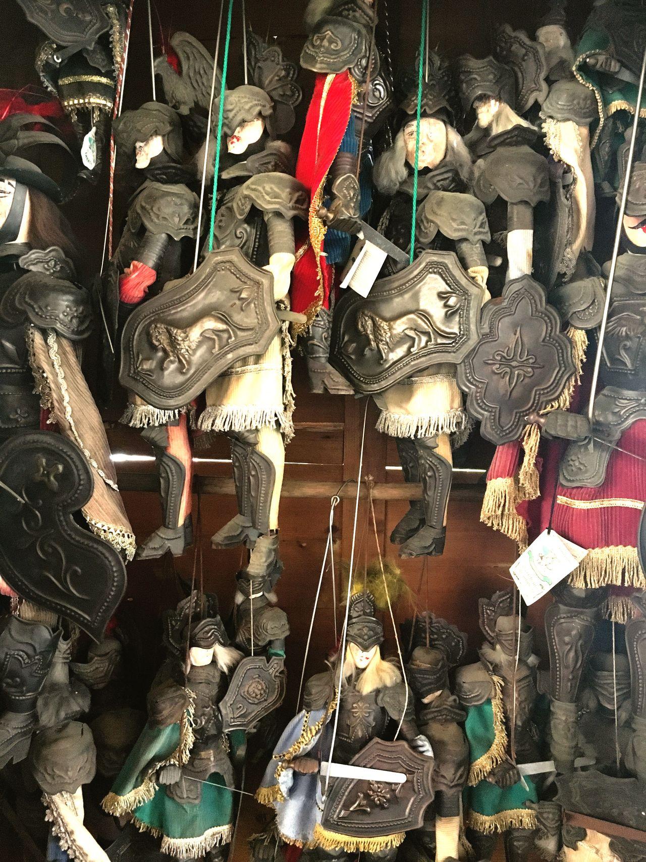 Showcase: February Pattern Pieces Decoration Sicilian Marionette Pupi siciliani