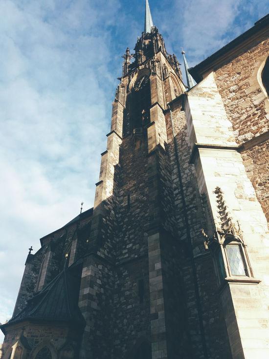 Brno Old Church Petrov Sunnyday☀️