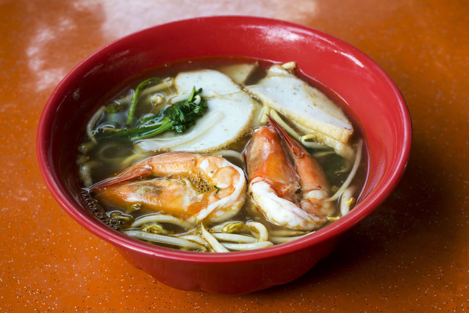 Bowl Close-up Food Indulgence Meal Noodles Prawn Noodles Prawns Ready-to-eat Seafood Selective Focus Served Serving Size Singapore Food Soup Still Life My Favorite Breakfast Moment Street Food Worldwide