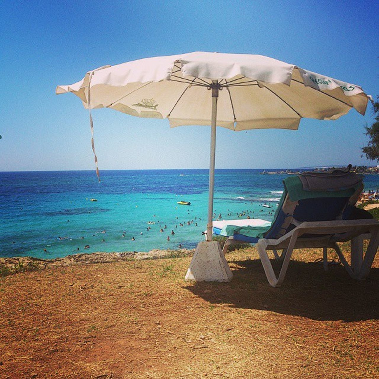 Cyprus Agia-Napa Beach Life Is A Beach