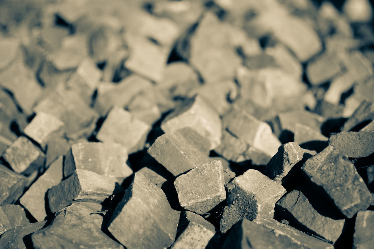 Watch your step 2/2 Abundance Backgrounds Close-up Cobblestone Cobblestones Day Focus On Foreground Large Group Of Objects No People Outdoors Paving Stone Paving Stones Stack Stone Stone Material Stones