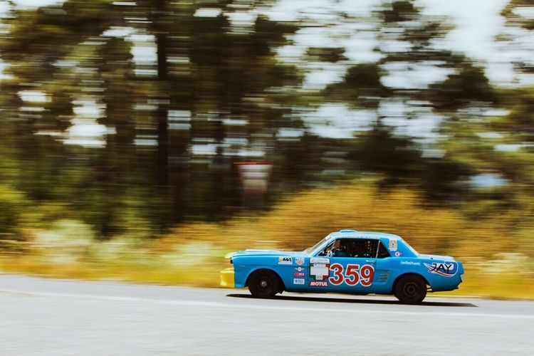 The Drive Mustang carrerapanamericana Blurred Motion Speed Motion No People Transportation Day Racecar Outdoors