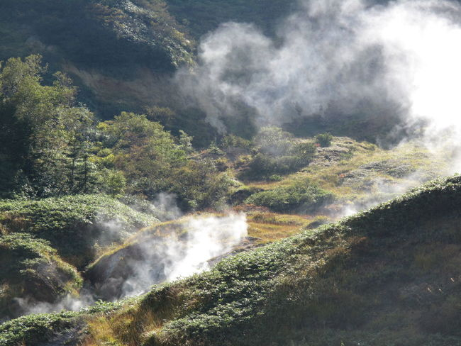 Beauty In Nature Hot Spring Japan Mountain Non-urban Scene Onsen Steam