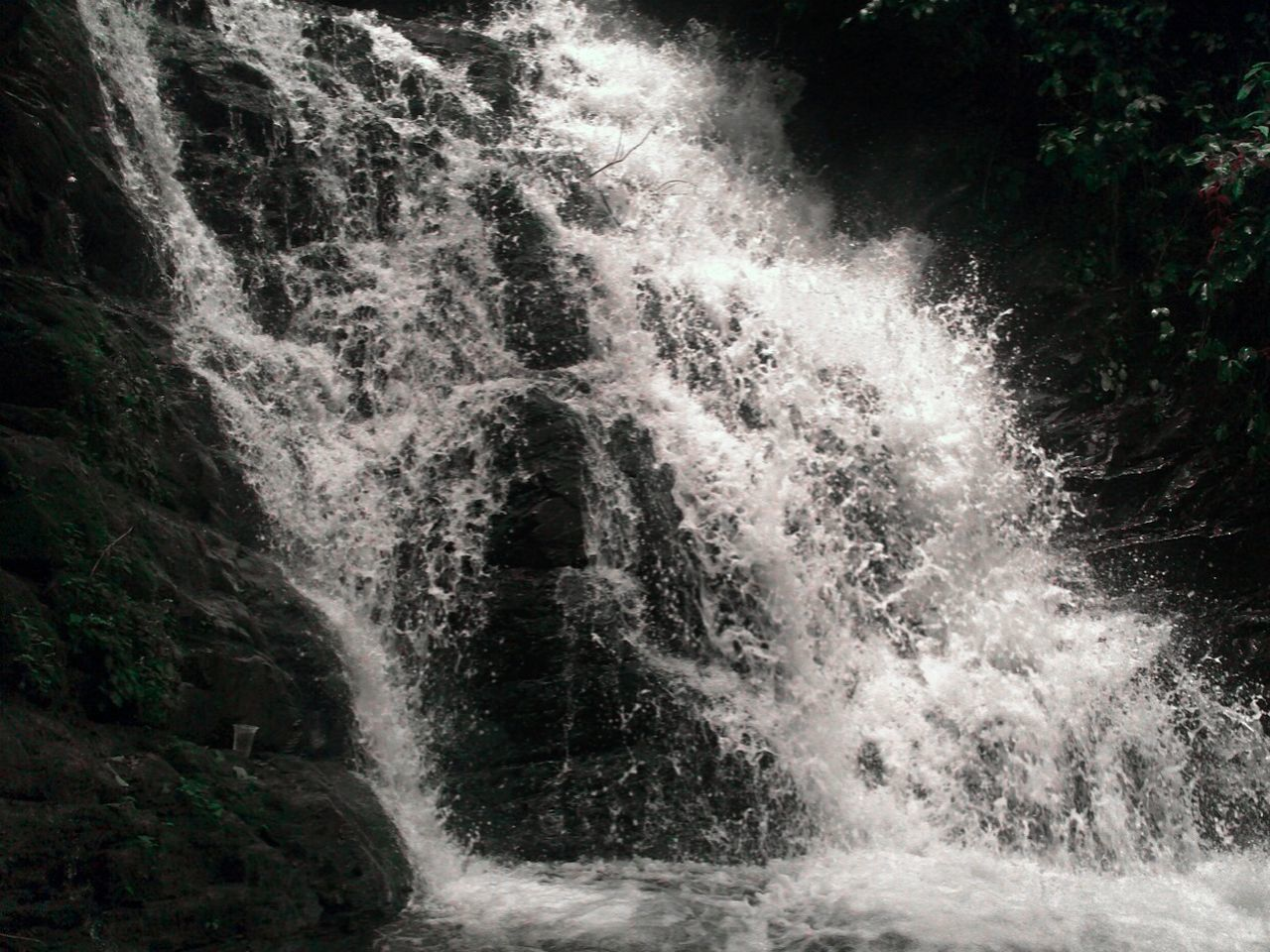 motion, water, waterfall, nature, power in nature, outdoors, beauty in nature, no people, scenics, day