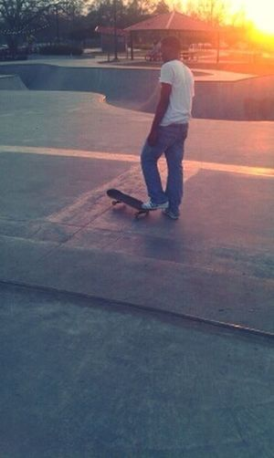 Cause Bxtch Im On My Skateboard , I Do This Shxt.