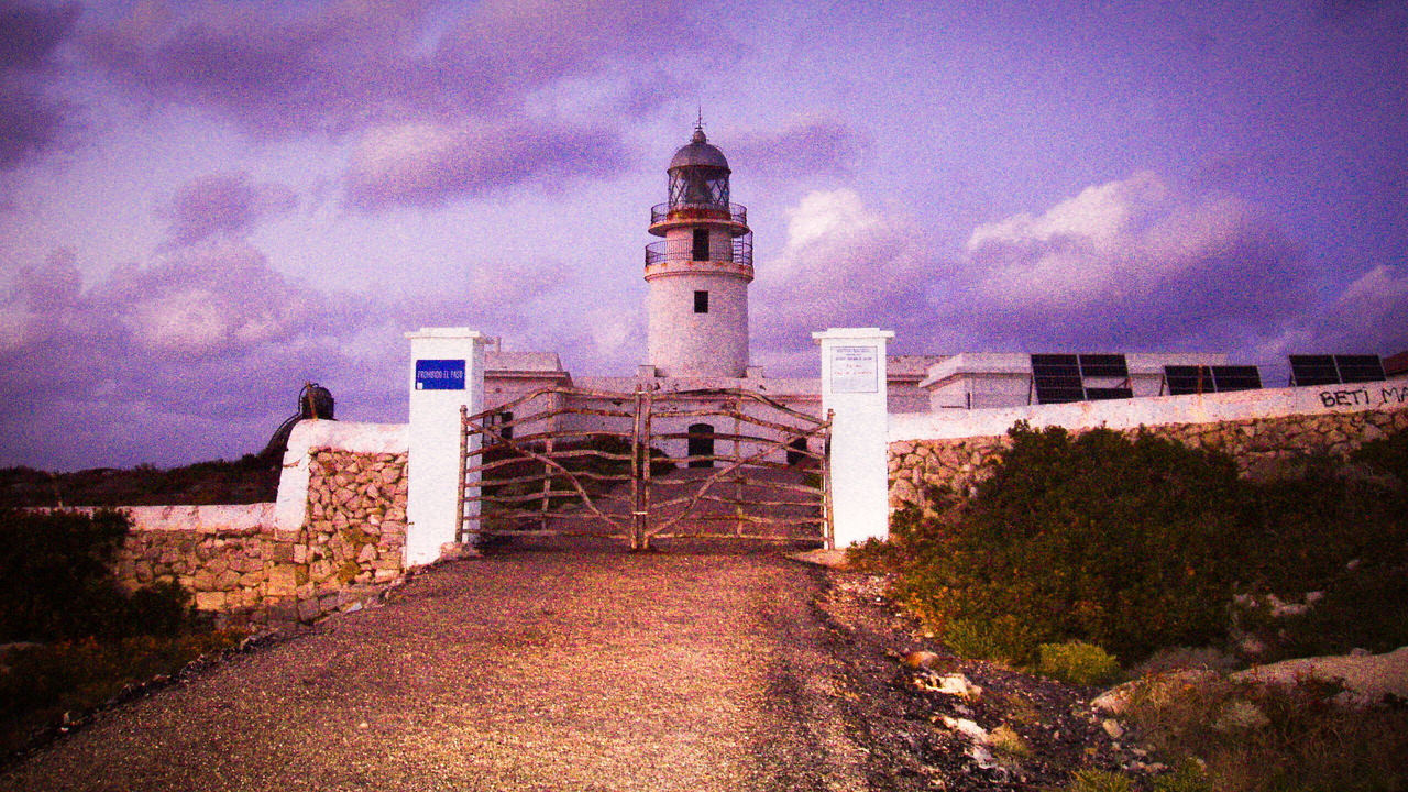 Mahon, Menorca Balearislands Islas Baleares Baleares Menorca Relaxing Sunset Lighthouse Lighthouse_lovers Lighthouses Learn & Shoot: After Dark Soft Pastel  Purple Clouds Lighthouse Gallery EyeEm Gallery Check This Out Travel Travel Photography Scenic Ambient