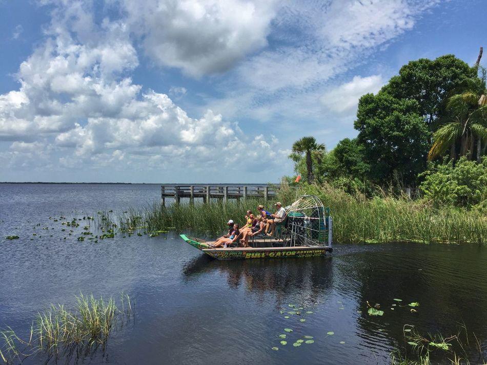 Air boat tour of Lake Washington Melbourne Florida Florida Nature Florida Lake Lake View Airboat