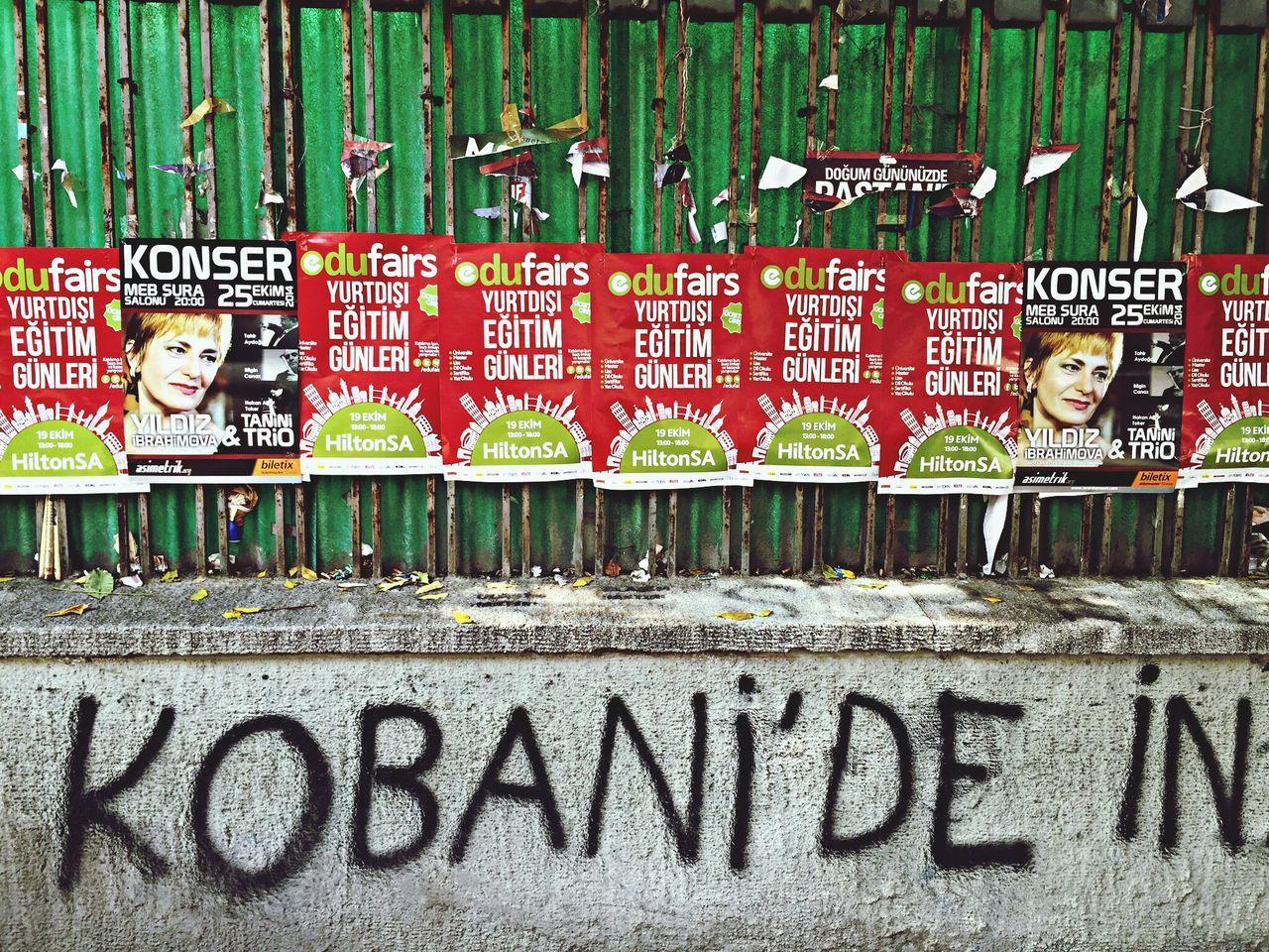 Korbane Ankara Mural Graffiti