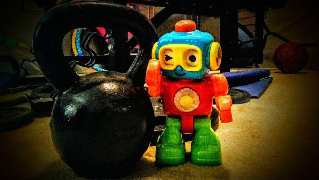 Robot Taking Photos Hello World That's Me Enjoying Life Workout Workout#gym#fitness Workoutmotivation