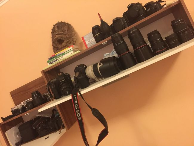 A bit of everithing...old and new❤️❤️❤️📸 Camera DSLR Photography Canon IPhone Iphonography Iphone6 Lens Lenses Gear Photogear Photooftheday Life Lifestyles