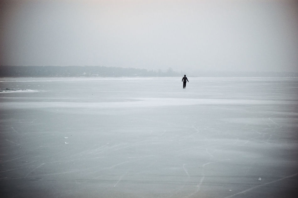 Alone Frozen Frozen Lake Frozen Landscape  Frozen Nature Frozen Water Frozen Waterfall Ice Field Ice-skating Lake Balaton, Hungary Loneliness Loner Out Outdoor Activities Outdoors Skating Skating ✌ Vast Field Winter Winter Outdoor Atmosphere Winter Sports Winter Time