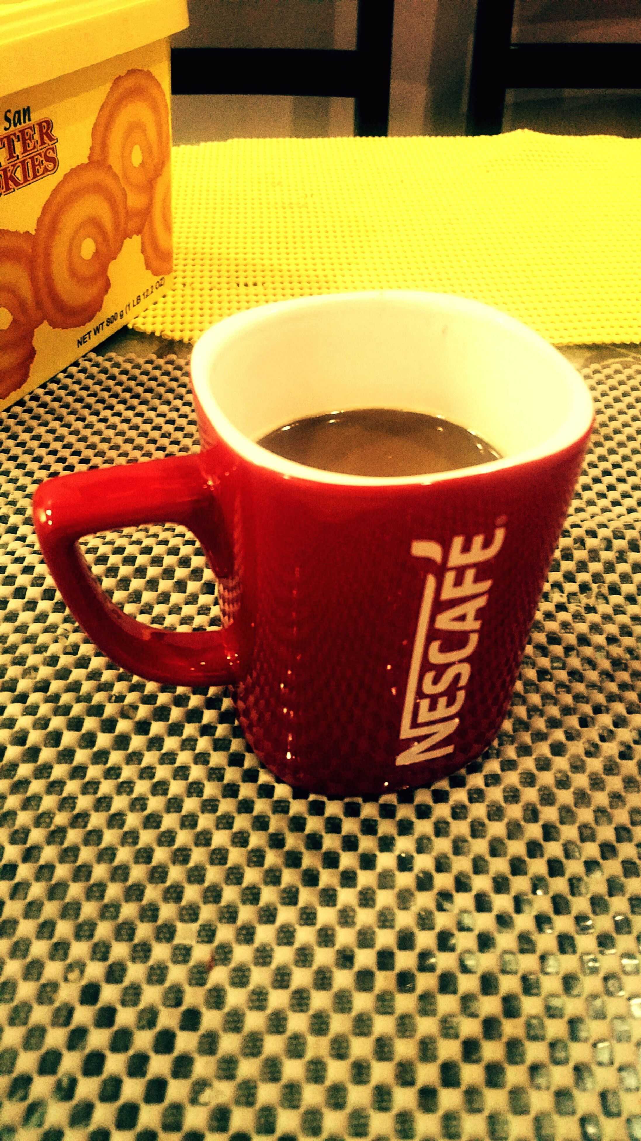 drink, refreshment, food and drink, coffee cup, close-up, red, drinking glass, table, cup, no people, serving size, frothy drink, indoors, tea - hot drink, freshness, mug, beer, day