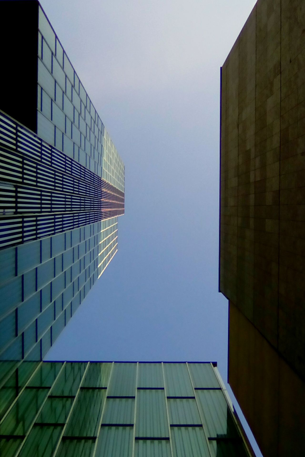 Architecture Built Structure Skyscraper Modern No People Outdoors Futuristic Color High Angle View Backgrounds Light And Shadow Open Edit Things I See