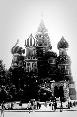 blackandwhite at Moscow by Yarsu