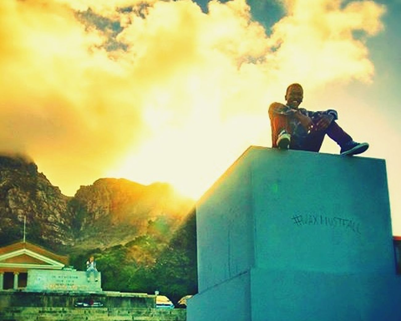 Cape Town Best Friend RhodesMustFall Conquer Statue King Influence