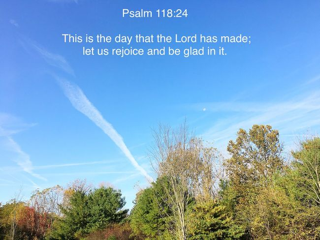 Have a blessed day friends! Fall Collection Only God Can Create Such Beauty Thankful For Another Day Beautiful Day Sky Clear Sky