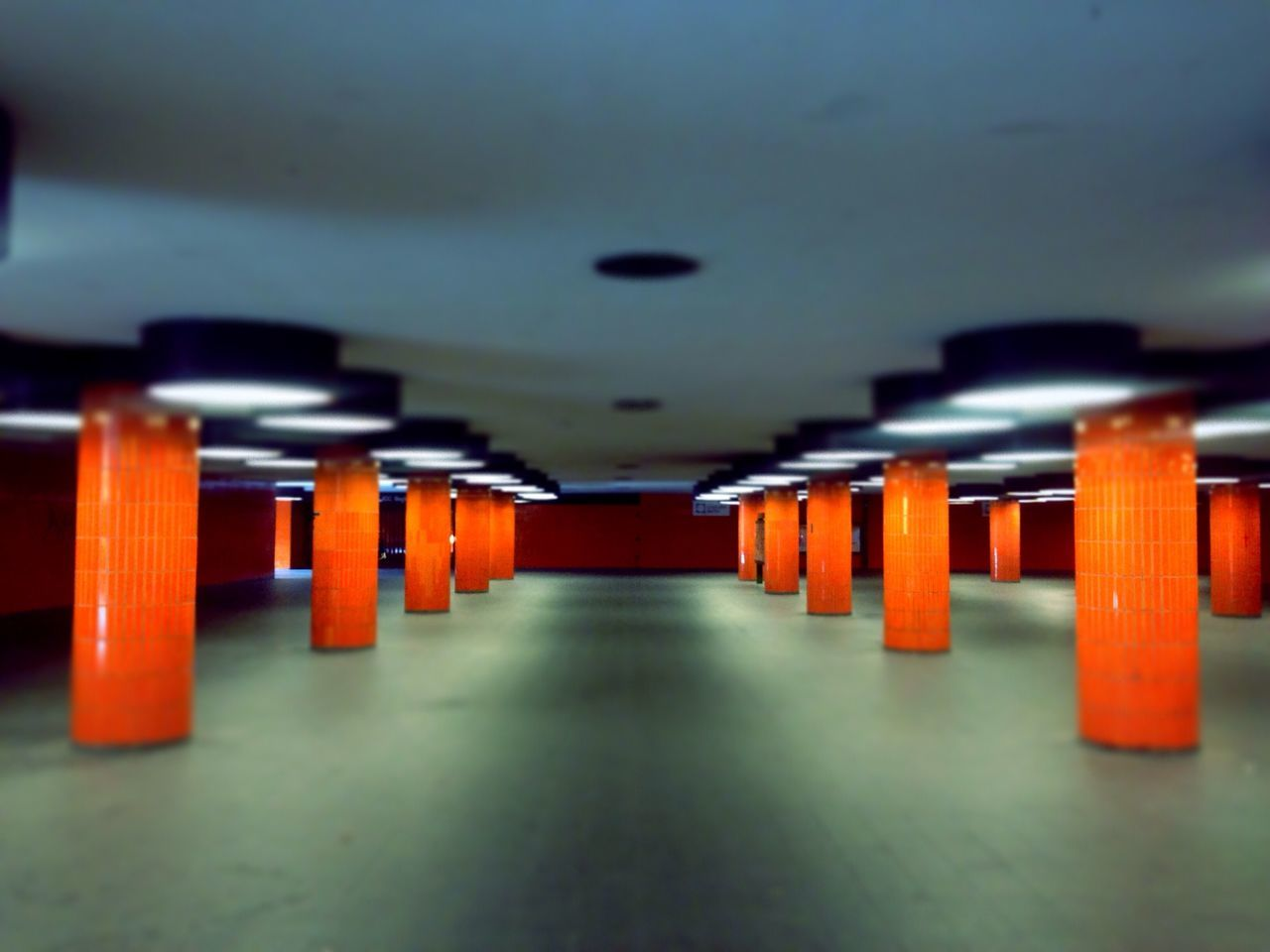 I ❤ BERLIN Symmetrical The World Needs More Orange Supernormal Geometric Shapes