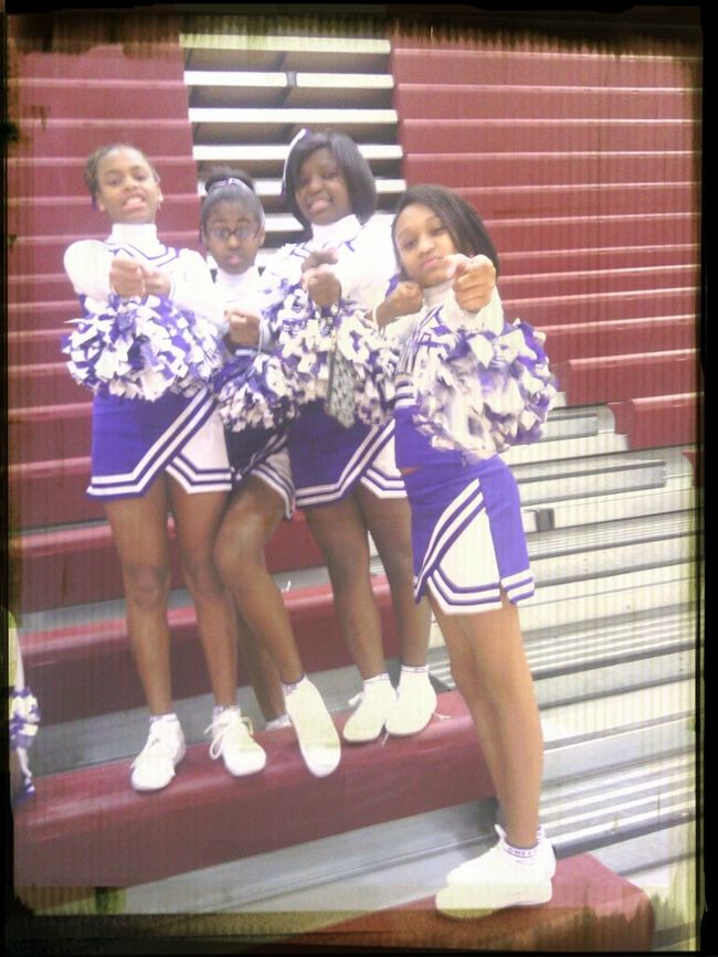 Aint No Body Fucking With My Clique Cheerleading