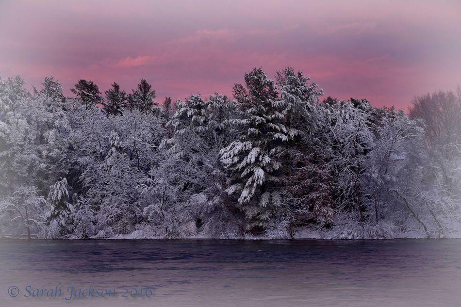Snowyriver Sunset Week On Eyeem