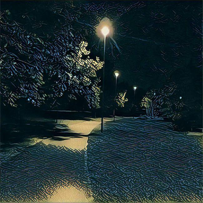 Nightphotography Walking Around Prisma
