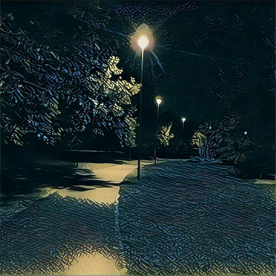 Nightphotography Walking Around Prisma