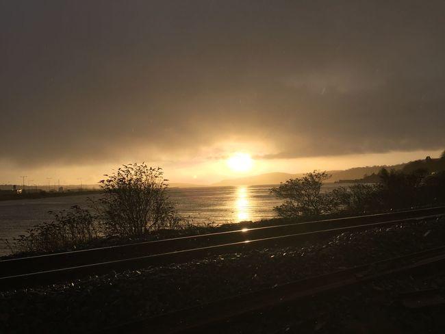 Sunrise Sea And Sky IPhone IPhoneography Ireland Trainline