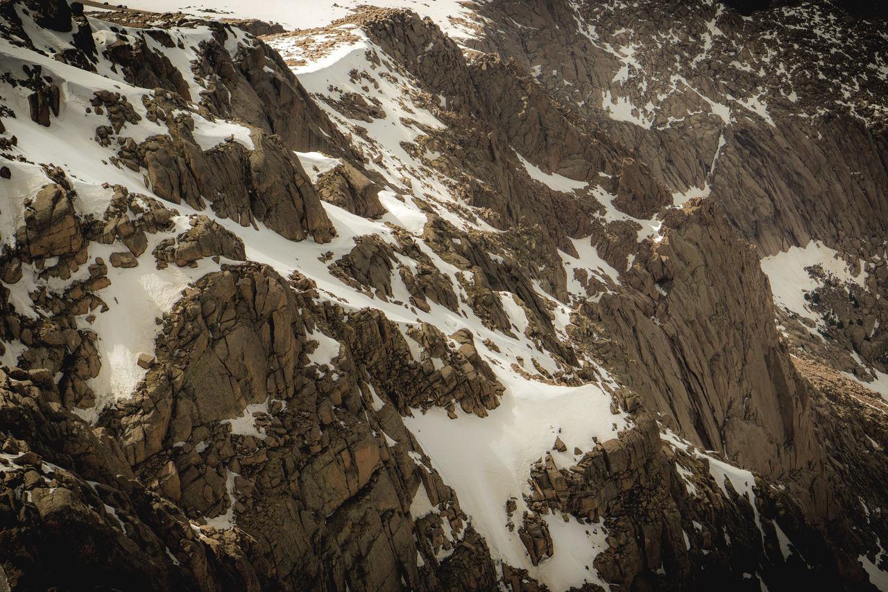 Full Frame Shot Of Snowcapped Mountain