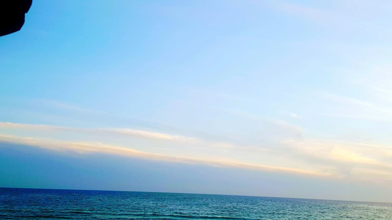 sea, horizon over water, scenics, tranquil scene, sky, beauty in nature, tranquility, water, nature, idyllic, no people, outdoors, blue, day