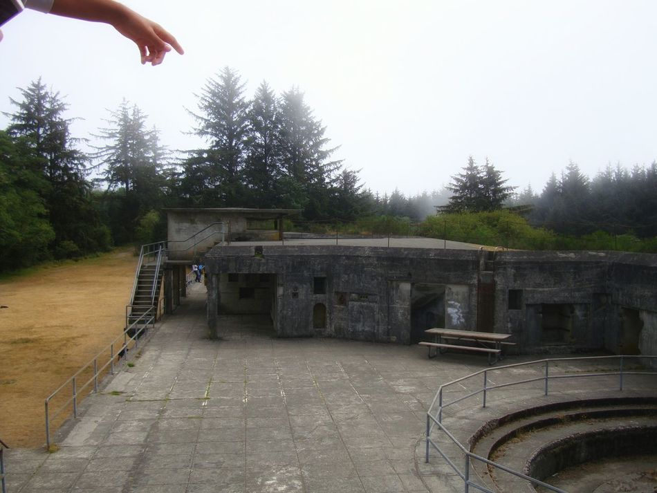 Architecture Outdoors Day Building Exterior Sky History Weathered One Person Hand Oregon The Secret Spaces