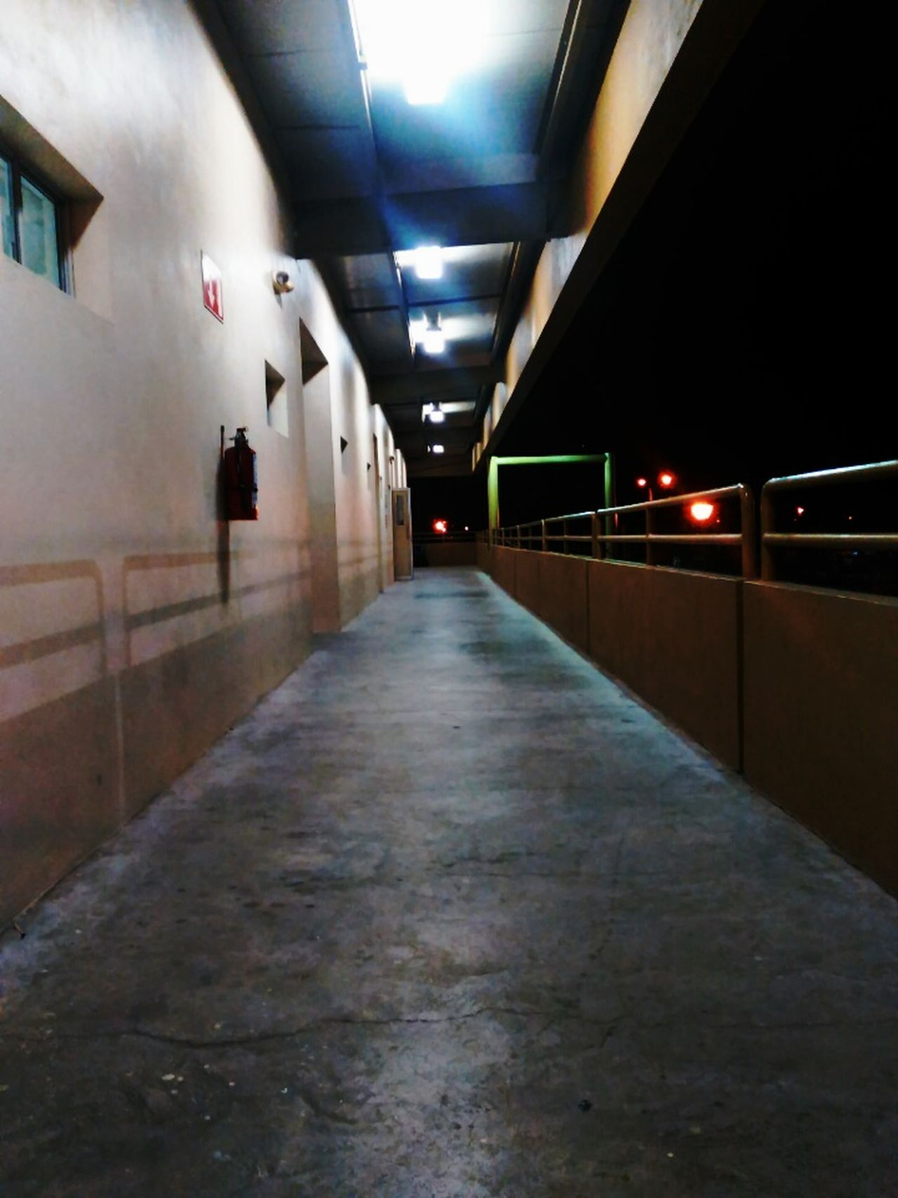 Night School Hall Mexicali UABC