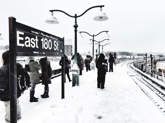 East 180th Street Station Bronx, New York Blackandwhite Iphone6camera NYC
