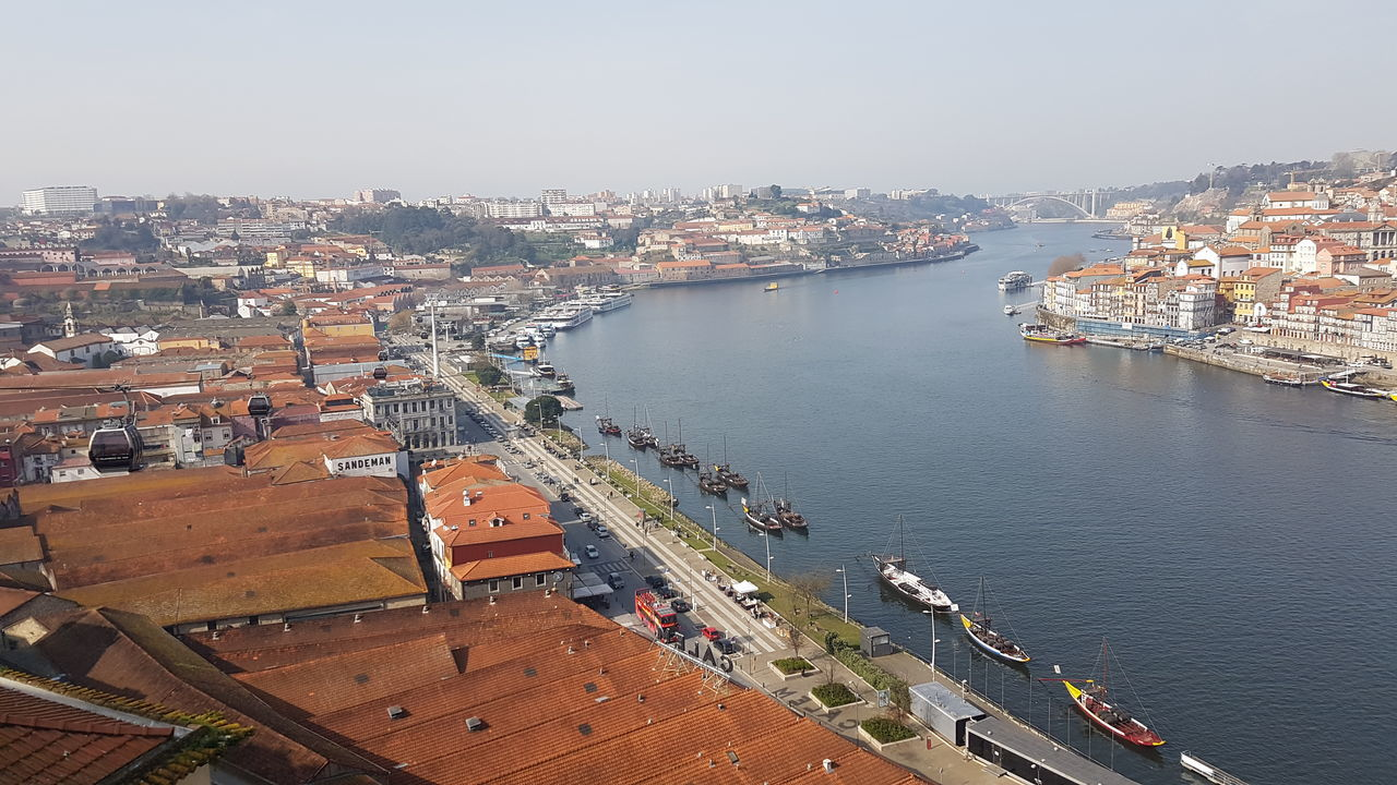 Visit Porto, Portugal Cityscape Historic City Porto Nice View Nice Atmosphere Nice Place Tradition