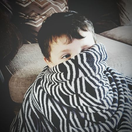 My Son Henry Marmaduke Chilling Watching Tv Blankets Blanket Wrapped Up In A Fluffy Blanket