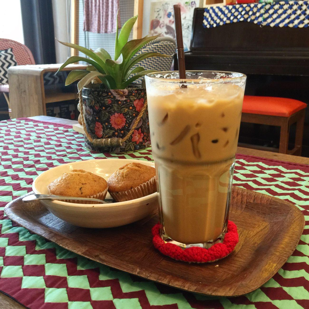 Love coffee. กาแฟร้านโปรด.