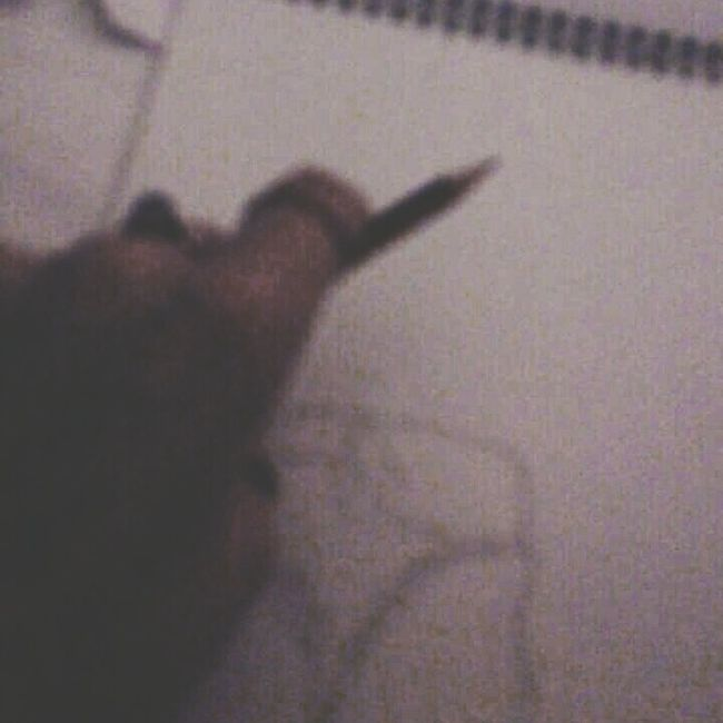 Super creative yo Pencil In Hand Im Not Left Handed Working On Ma Art