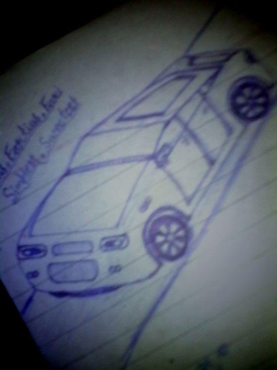 my designed Car