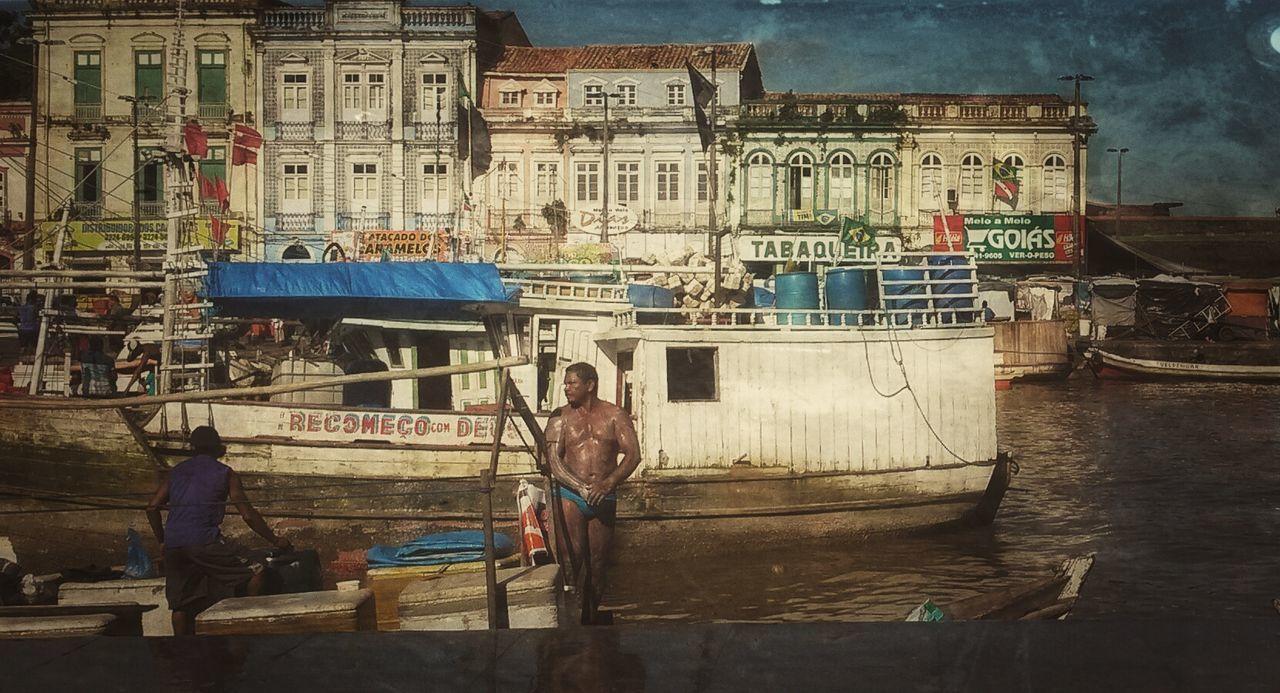 Ver-o-peso Streetphotography Bath Time Hello World