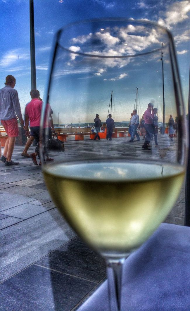Chablis on Aker Brygge Oslo Norway EyeEm Best Edits EyeEm Best Shots First Eyeem Photo