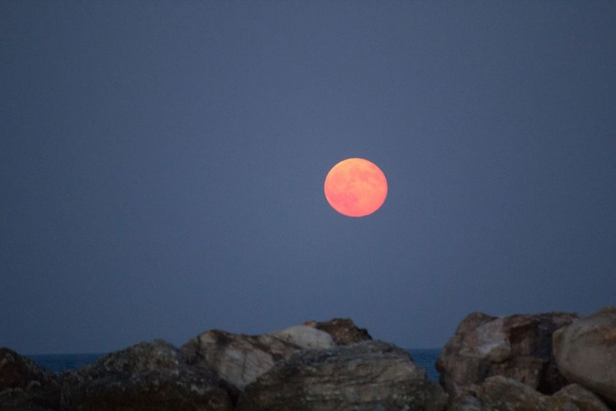 Moon Full Moon Nature Vscocam