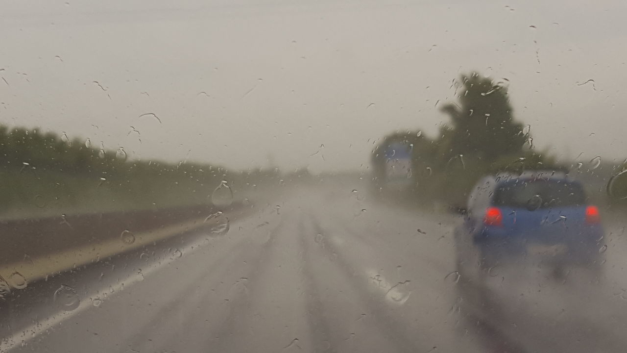 Check This Out Hello World Raining Day On The Road Roadtrip Taking Photos Bluecar
