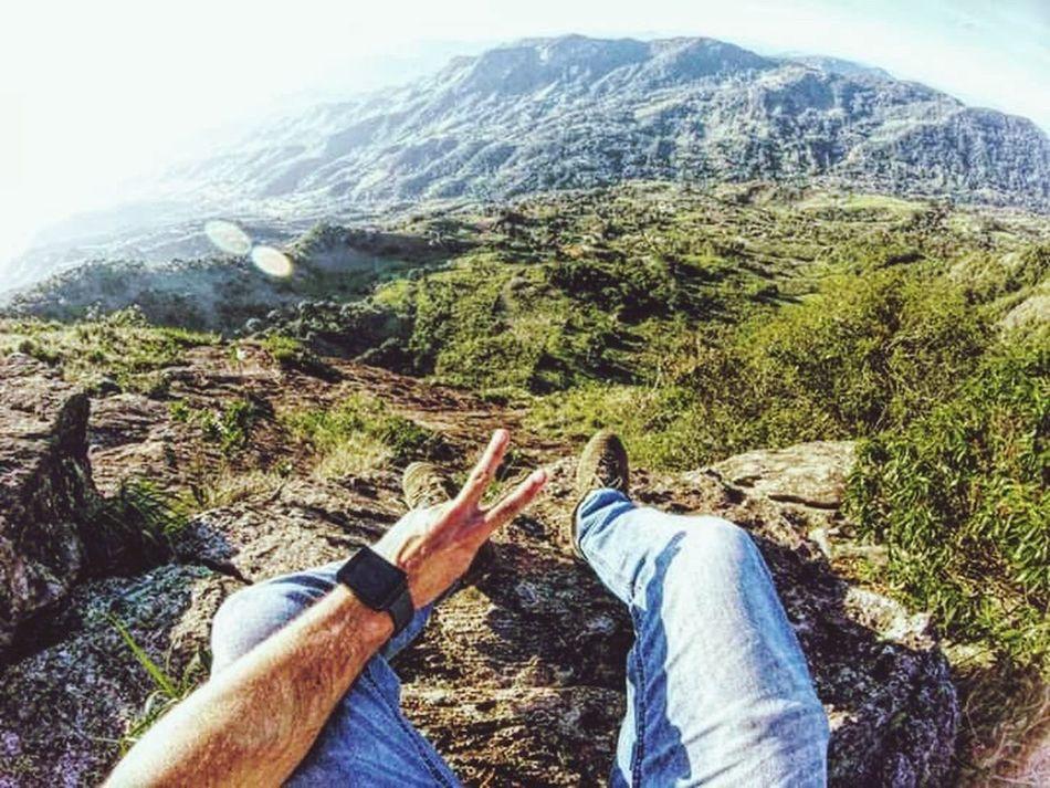 Arriscar sempre ✌🏻😏 Mountain Adventure Nature Pedradobau First Eyeem Photo