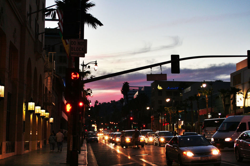 Beautiful stock photos of hollywood, Avenue, Boulevard, Busy, Cars