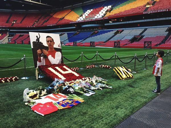 Amsterdam Arena Johan Cruijff Cruijff Soccer Legend Holland Your Amsterdam